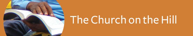Header - The Church on the Hill